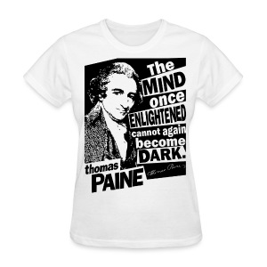 Thomas Paine - Enlightened - Women's T-Shirt