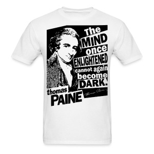 Thomas Paine - Enlightened - Men's T-Shirt