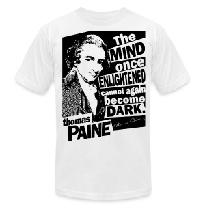Thomas Paine - Enlightened - Men's T-Shirt by American Apparel
