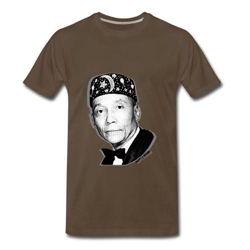 Nappy 9 - Elijah Muhammad  - Men's Premium T-Shirt