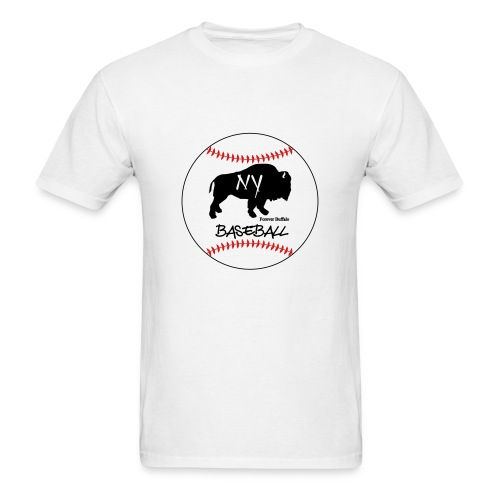 Buffalo NY Baseball Baseball - Men's T-Shirt
