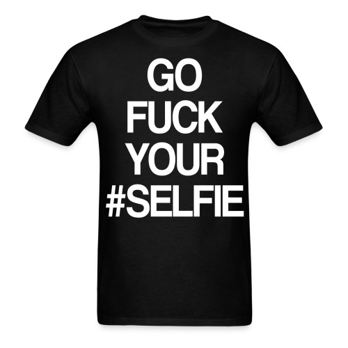 Anti-selfie movement - Men's T-Shirt
