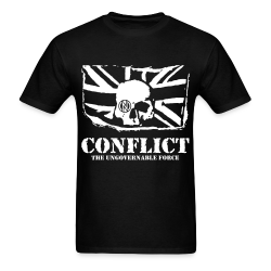 Conflict - The ungovernable force Punk - Crust - Anarcho-punk - Crass - Conflict - Punkrock - Oi! - If the kids are united