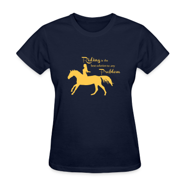 Riding is the best..... Women's T-Shirts