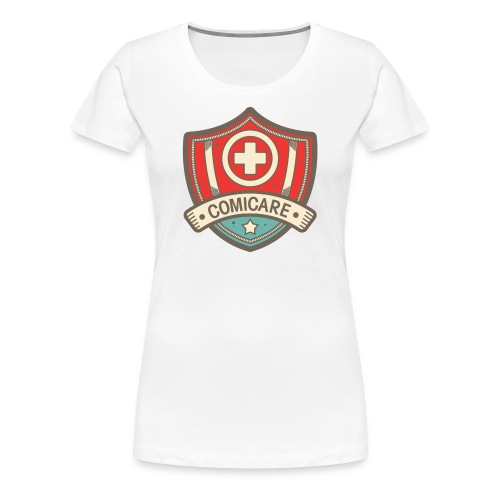Premium Women Shield T - Women's Premium T-Shirt