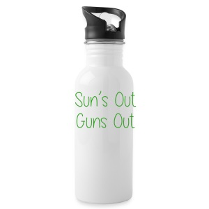 Sun's Out Gun's Out - Water Bottle