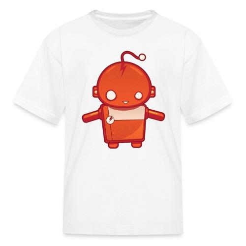 Orange Robot T-Shirt - Kids' T-Shirt