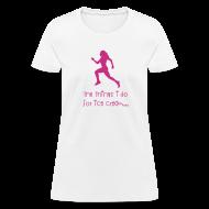 Women's T-Shirts ~ Women's T-Shirt ~ The things I do for ice cream