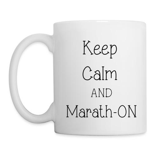Keep Calm and Marath-ON - Coffee/Tea Mug