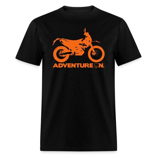 """690 Adventure On"" - Orange Logo"