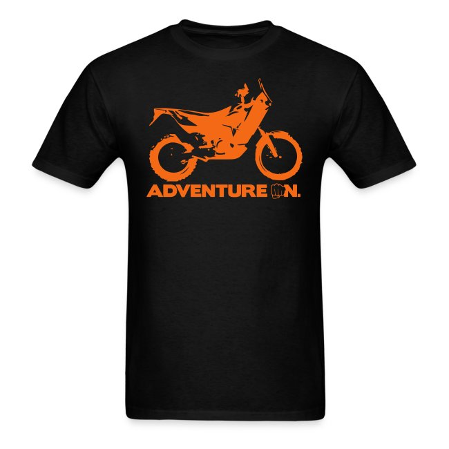 """Orange Adventure On"" - Orange Logo"
