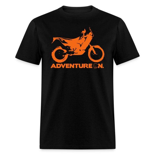 """Orange Adventure On"" - Orange Logo"