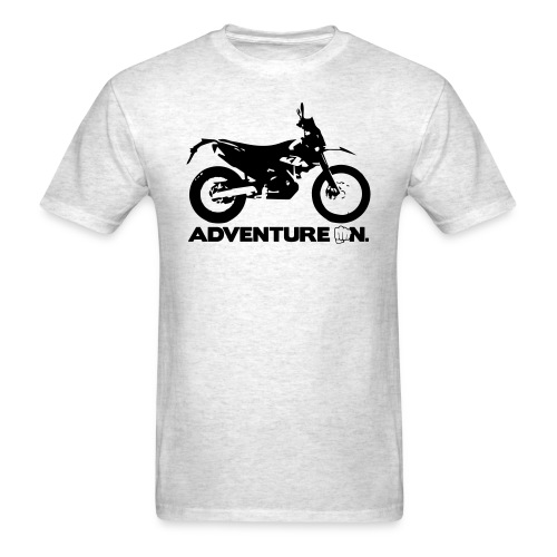 690 Adventure On - Black Logo - Men's T-Shirt