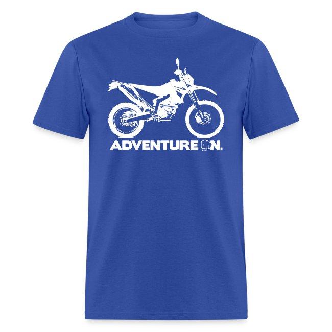 """""""WRR Adventure On"""" - White Logo"""