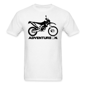 WRR Adventure On - Black Logo - Men's T-Shirt