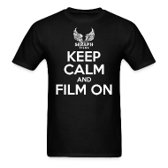 T-Shirts ~ Men's T-Shirt ~ Keep Calm and Film On Men's T-Shirt