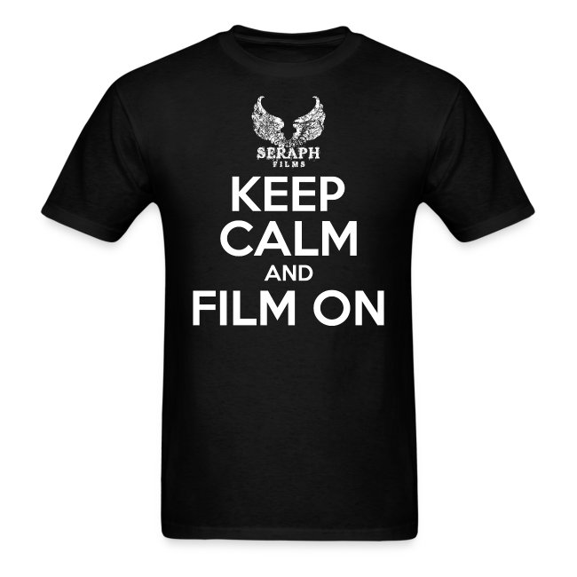 Keep Calm and Film On Men's T-Shirt