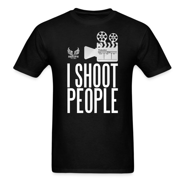 I Shoot People Men's T-Shirt