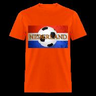 T-Shirts ~ Men's T-Shirt ~ Netherlands (Nederland) Dutch Soccer Jersy Tshirt