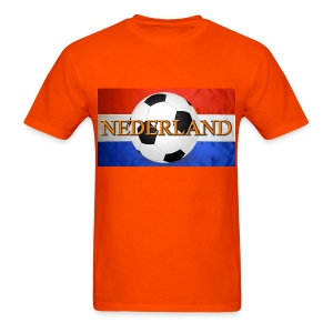 Netherlands (Nederland) Dutch Soccer Jersy Tshirt - Men's T-Shirt