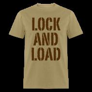 T-Shirts ~ Men's T-Shirt ~ Lock and load