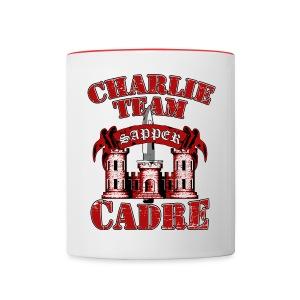 Charlie Team Cadre Mug - Contrast Coffee Mug
