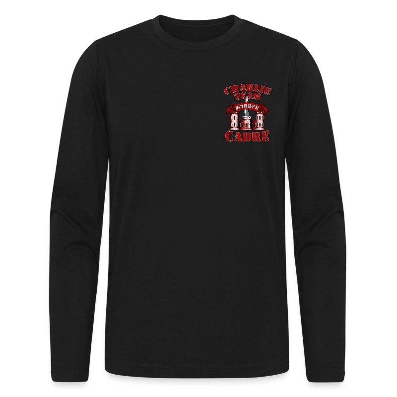 Charlie Team Cadre - Men's Long Sleeve T-Shirt by Next Level
