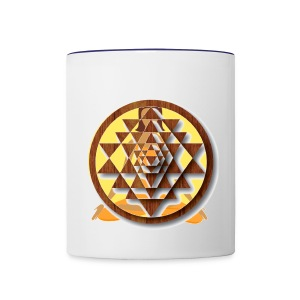 Mandala Coffee Mug - Contrast Coffee Mug