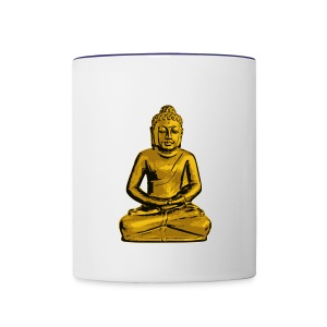 Smiling Buddha Coffee Mug - Contrast Coffee Mug