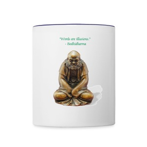 Zen Patriach Bodhidharma Coffee Mug - Contrast Coffee Mug