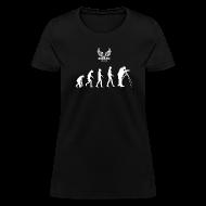 T-Shirts ~ Women's T-Shirt ~ Evolution of Film Woman's T-Shirt