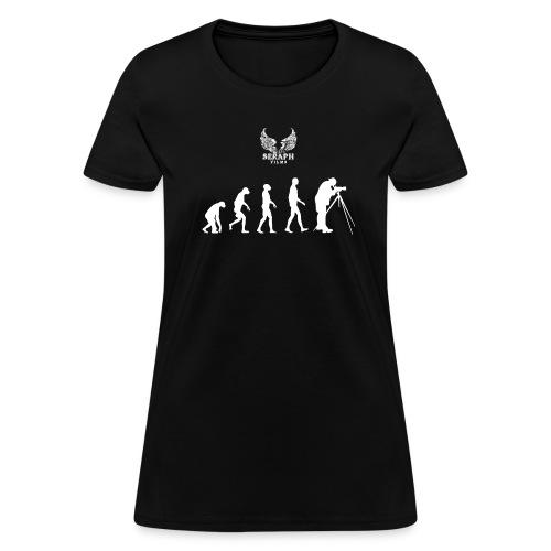 Evolution of Film Woman's T-Shirt - Women's T-Shirt