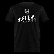 T-Shirts ~ Men's T-Shirt ~ Evolution of Film Men's T-Shirt
