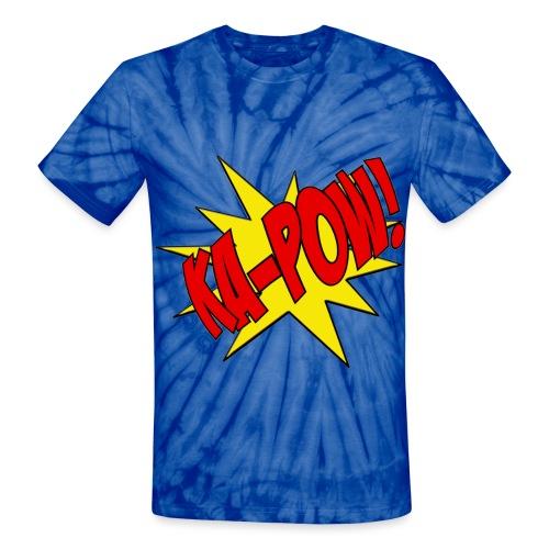 KA-POW TIE-DYE - Unisex Tie Dye T-Shirt