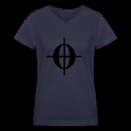 Women's T-Shirts ~ Women's V-Neck T-Shirt ~ C0DA - Ladies