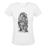 T-Shirts ~ Women's V-Neck T-Shirt ~ The Mane - Ladies