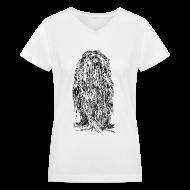 Women's T-Shirts ~ Women's V-Neck T-Shirt ~ The Mane - Ladies