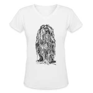 The Mane - Ladies - Women's V-Neck T-Shirt
