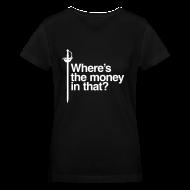 T-Shirts ~ Women's V-Neck T-Shirt ~ Motto - Ladies