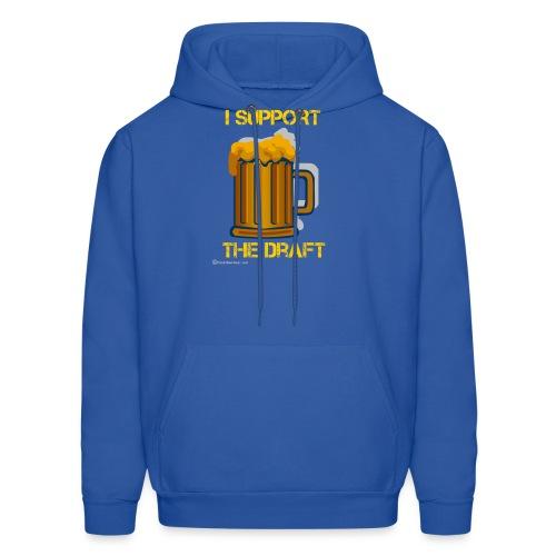 I Support The Draft Men's Hooded Sweatshirt - Men's Hoodie