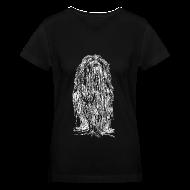 T-Shirts ~ Women's V-Neck T-Shirt ~ The Mane (White) - Ladies