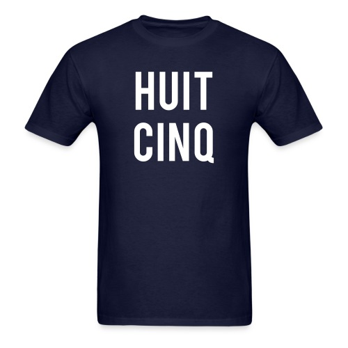 Huit Cinq (Male) - Men's T-Shirt
