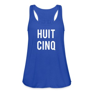 Huit Cinq (Female) - Women's Flowy Tank Top by Bella