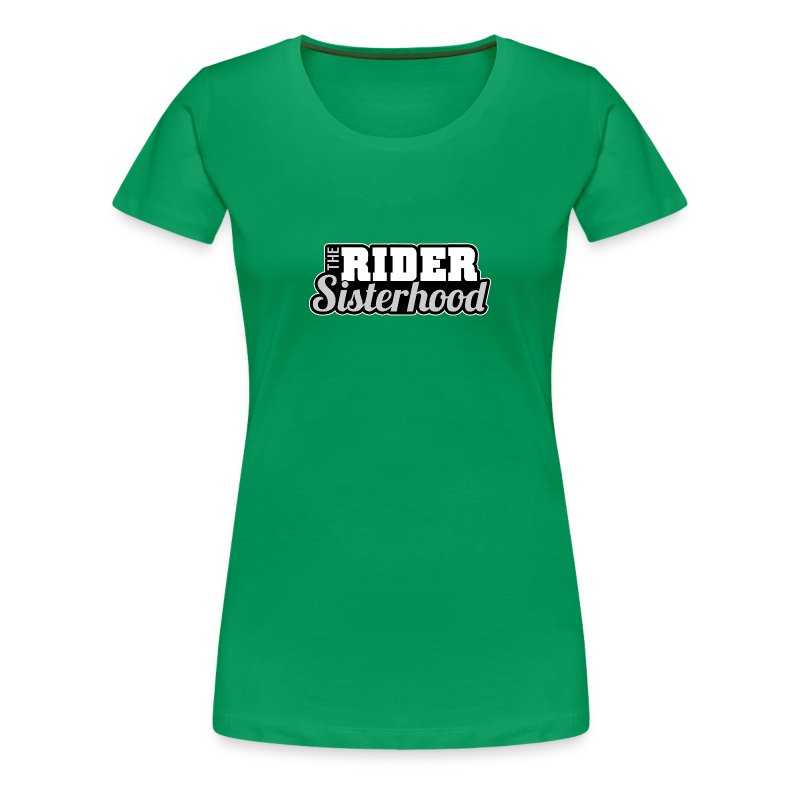 Rider Sisterhood (Female) - Women's Premium T-Shirt
