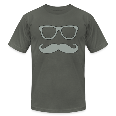 glasses and mustache T-Shirts