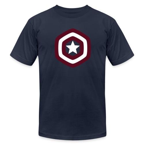 Cptn. America Hexashield - Men's  Jersey T-Shirt