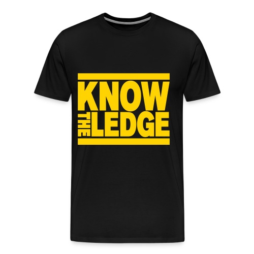 Know The Ledge - Men's Premium T-Shirt