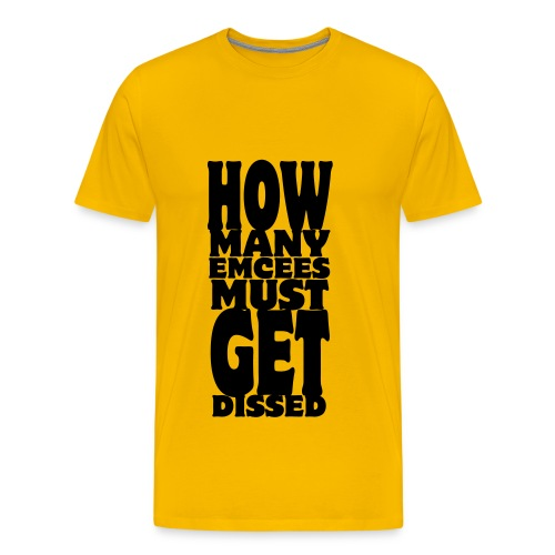 How Many Emcees - Men's Premium T-Shirt