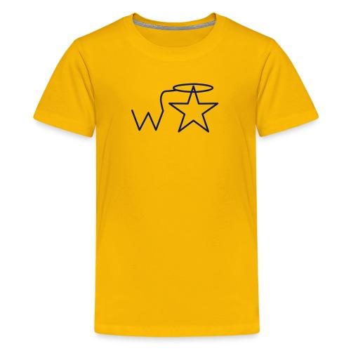 Kids' NAVY Logo Wranglerstar - Kids' Premium T-Shirt