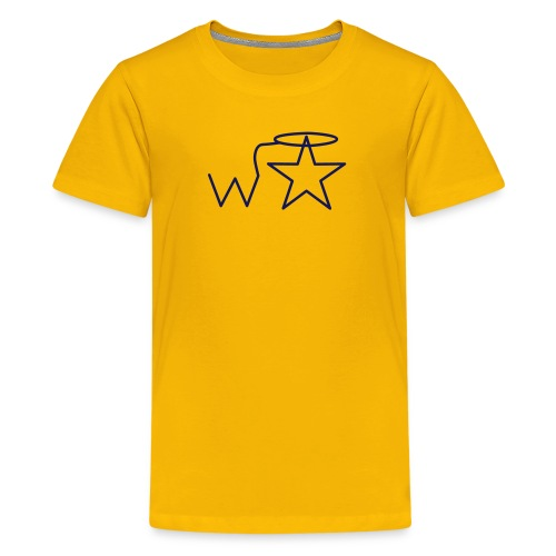 Kids' NAVY Logo Wranglerstar - Kids' Premium T-Shirt